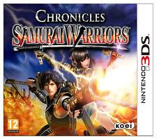 SAMURAI WARRIORS CHRONICLES IDEA REGALO GIOCO NUOVO SIGILLATO PER NINTENDO 3DS
