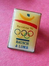 Bausch & Lomb Optics Barcelona - Sponsor Olympic Pin