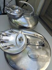 2 Vintage Surge Cow Goat Dairy Stainless Steel Milkers