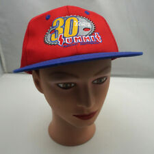 Summit Racing Equipment Hat Red Stitched Adjustable Baseball Cap Pre-Owned ST20