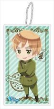 Hetalia Axis Powers England Beautiful World Clear Strap Key Chain NEW