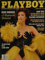Playboy March 1993 | Mimi Rogers Kimberly Donley Men's Club   #3237