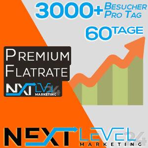 Flatrate 📈 Täglich 3000+ GOOGLE Besucher ✔︎ Organic DE Traffic ★ SEO ★ 2 Monate