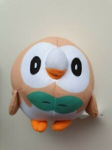 "Pokemon Pokémon Rowlet 6"" Plush Soft Stuffed Doll Toy"