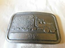 LOG TRUCK BELT BUCKLE  * NICE *