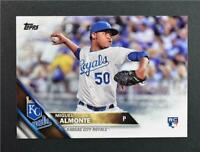 2016 Topps #606 Miguel Almonte RC - NM-MT