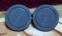 2pcs Sony Camera Body Caps Covers for E-mount NEX3/5/6/7 A6000 A7 A7R A7S A7II