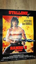 stallone RAMBO 2 !  affiche cinema
