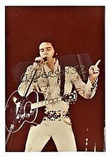 ELVIS PRESLEY CONCERT PHOTOGRAPH - MEMPHIS, TN - MARCH 20, 1974