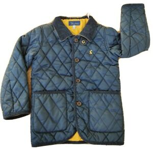 Joules Tom Joule 5 years boy girl kids quilted jacket buttons country corduroy