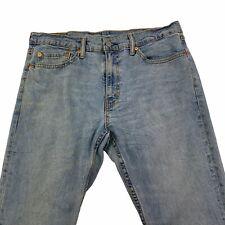 Levis 511 Men's Taper Leg Denim Jeans Mens 36 X 30 Stone Acid Wash Mid Rise