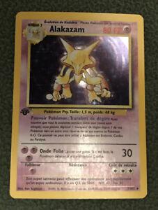 Alakazam - Holo 1/102 - Base Set French 1st Edition - NM - Pokémon TCG