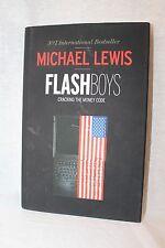 Hardback Book Flash Boys by Michael Lewis