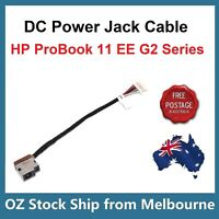 DC Power Input Jack with Cable For HP ProBook 11 EE G2 Series