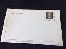 Vintage Queen Elizabeth Ii - 4d prepaid letter card unused