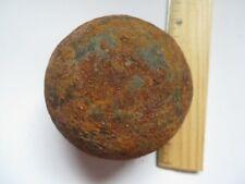 British 3 Pounder Solid Shot Cannonball, Tarlton'S Fort, Yorktown, 1781