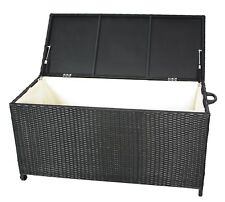 Gartenbox Kissenbox Gartentruhe Aufbewahrungsbox Auflagenbox aus Polyrattan