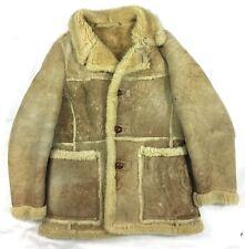 Vintage Woolrich Woolen Coat Jacket Californian Spring Lamb Size 38 #A15