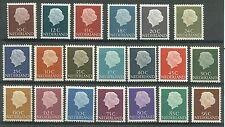 Nederland 617-636  Koningin Juliana 1593-1967   10ct tm 95ct   luxe postfris