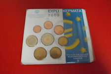 * Grecia Euro KMS 2003 * 1 cent - 2 euro in blister.