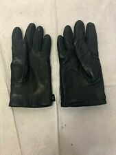 "Aris Women's Black Leather Winter Gloves One Size  8 1/4"" L"