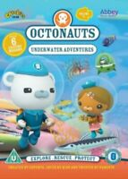Octonauts Underwater Adventures DVD NEW Gift Idea Educational Fun TV Show