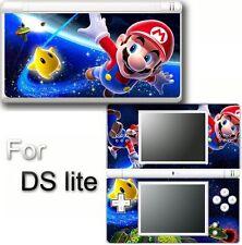 Super Mario VINYL SKIN STICKER COVER For DS LITE NDSL 2