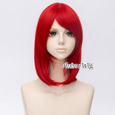 40cm Anime Black Butler Angelina Dalles Madam Red Short Halloween Cosplay Wig