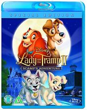 Lady and the Tramp II 2: Scamp's Adventure [Blu-ray, Disney Movie, Region Free]