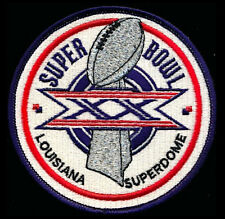 SUPER BOWL 20 ~ BEARS / PATRIOTS Willabee & Ward OFFICIAL NFL SB XX ~ PATCH ONLY