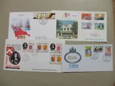 Four British Colonies Turks and Caicos fdc.two are registered express