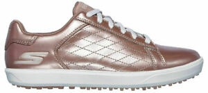 Skechers Womens Go Golf Shoes Drive Shine 14881 7 or 10 Rose Gold New in box