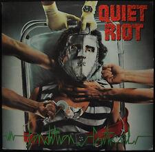 """QUIET RIOT """"Condition Critical"""" Pasha QZ 39516 EX/NM Rock LP Sterling Dead Wax"""