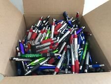 500 Lot Misprint Ink Pens with Soft Tip STYLUS for Touch Screen, Assorted Barrel