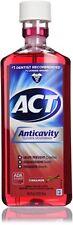 ACT Anticavity Fluoride Rinse, Cinnamon, 18 oz (4 Pack)