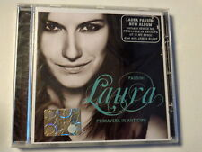 LAURA PAUSINI  -  PRIMAVERA IN ANTICIPO - NEW ALBUM  -   CD  NUOVO E SIGILLATO