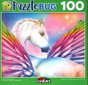 Fantasy Dream Horse - Puzzlebug - 100 Piece Jigsaw Puzzle