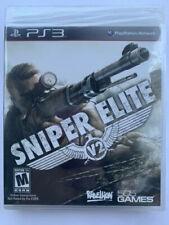 Sniper Elite V2 PS3 Sony PlayStation 3 Video Game BRAND NEW SEALED Y-fold