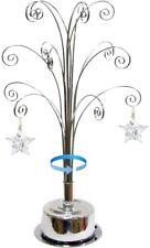 For Swarovski Christmas Ornament 2021 Annual Snowflake Crystal Angel Star Stand