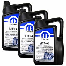 Mopar 68218058Ac Atf+4 Automatic Transmission 1.3 Gal Fluid, 1 Case (3 in Total)