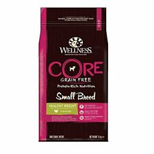 Wellness CORE Small Breed Healthy Weight Dog Food Dry, Grain Free - Turkey, 1.5