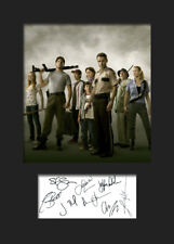 THE WALKING DEAD #1 A5 Signed Mounted Photo Print (Reprint) - FREE DELIVERY