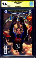 Action Comics #966 CGC SS 9.6 signed Clay Mann CLASSIC COVER DC REBIRTH NM+