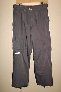 """O'NEILL Freedom Series Mens Large 32-34""""W 30""""L Lined Nylon Snow/Snowboard Pants"""
