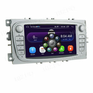 FOR FORD MONDEO FOCUS S/C-MAX GALAXY CAR STEREO RADIO GPS SAT NAV BT DAB