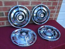 63 1963 CHEVROLET IMPALA SS SPINNER HUBCAPS ....NICE!!!!!