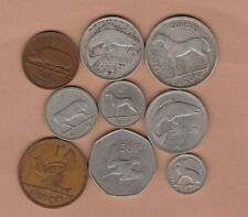 More details for nine ireland coins 1937 to 1974 in fine to extremely fine condition.