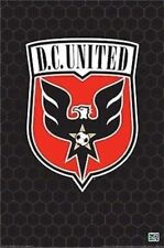 Washington DC UNITED ~ LOGO 24x36 POSTER Major League Soccer MLS Football D.C.
