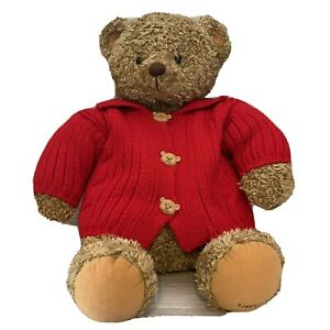 Hallmark Mary Hamilton Teddy Bear w/ Red Sweater