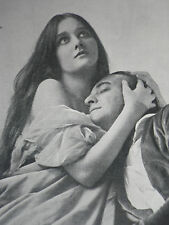 Florence Saunders And Matheson Lang In Christopher Sly 1921 Photo Article 8559